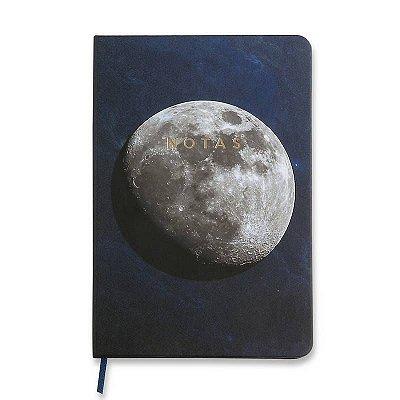 Caderneta Lua Astral Sem Pauta Leve 14x21