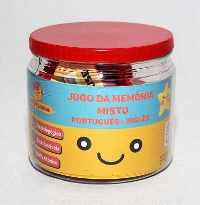 Jogo da memória Português - Inglês (misto)