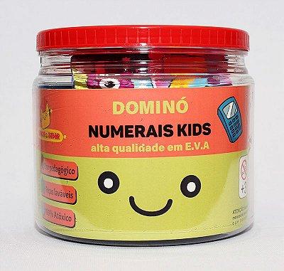 DOMINÓ NUMERAIS KIDS | E.V.A
