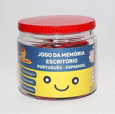 Jogo da memória Português - Espanhol (Escritório)