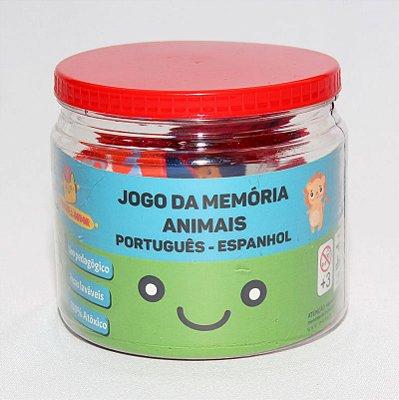 Jogo da memória Português - Espanhol (Animais)