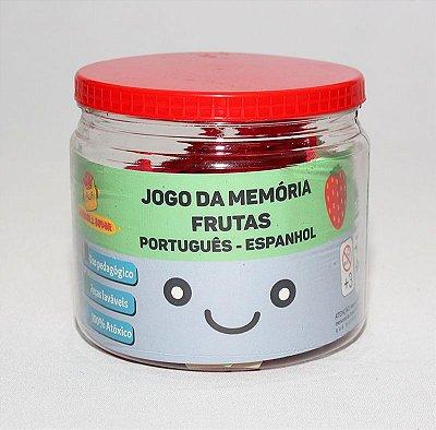 Jogo da memória Português - Espanhol (Frutas)