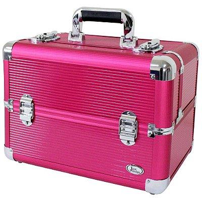 Maleta Jacki Design BSB14127 Pró Maquiagem Pink