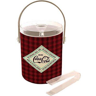 Balde de Gelo Coca-Cola Del Refresh Colorido