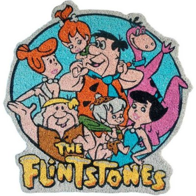 Capacho Flintstones All Family Happy 63x60cm