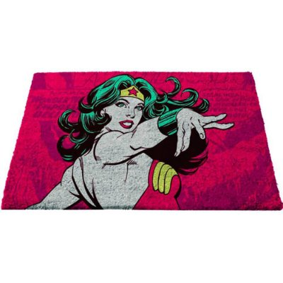 Capacho Wonder Woman Power 75x45cm