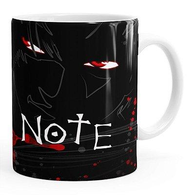 Caneca Death Note v01 Branca