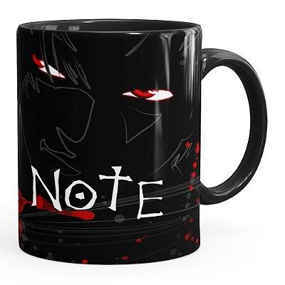 Caneca Death Note v01 Preta