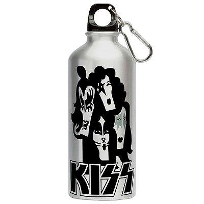 Squeeze Banda Kiss 500ml Aluminio