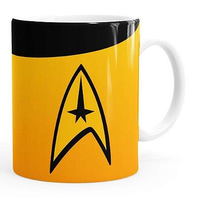 Caneca Star Trek Comando Branca