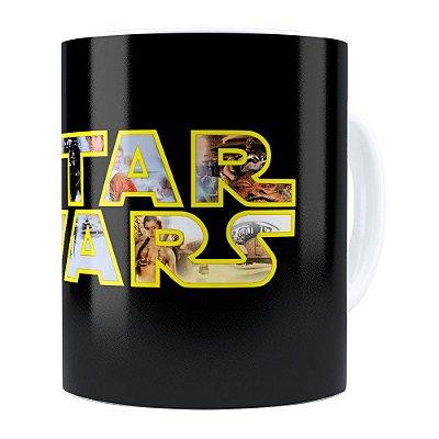 Caneca Star Wars v04 Branca