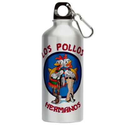 Squeeze Breaking Bad Los Pollos Hermanos 500ml Aluminio