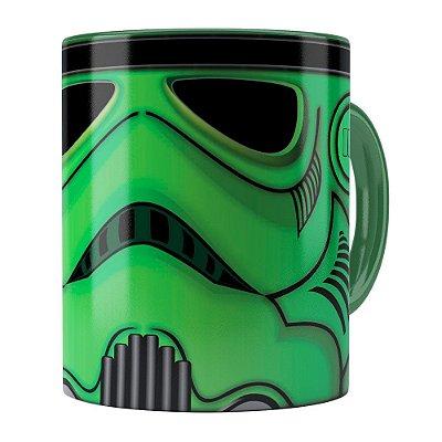 Caneca Star Wars StormTrooper Green Verde Escuro