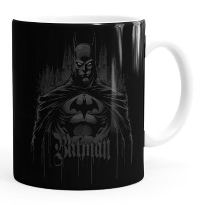 Caneca Batman The Dark Knight Branca