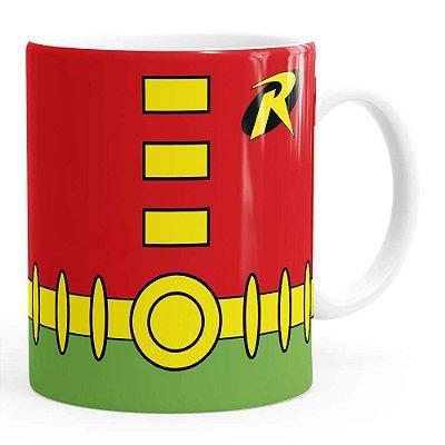 Caneca Robin Batman Série Branca