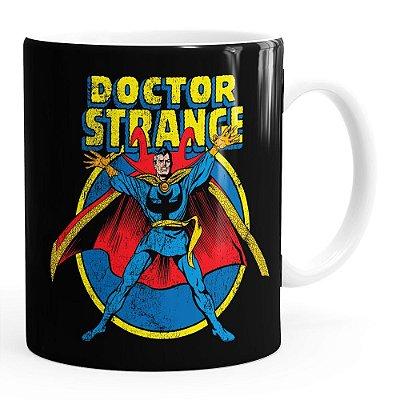 Caneca Doutor Estranho (Doctor Strange) v04 Branca