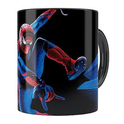 Caneca O Espetacular Homem-Aranha Preta