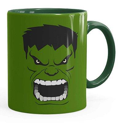 Caneca Hulk Anime Verde Escuro