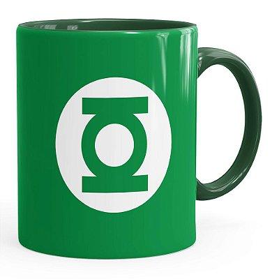 Caneca Lanterna Verde v01 Verde Escuro