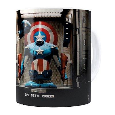Caneca Os Vingadores (Avengers) v03 Branca