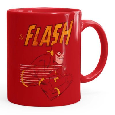 Caneca The Flash v03 Vermelha