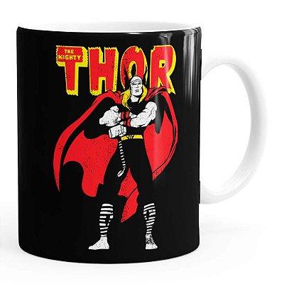Caneca Thor The Mighty v01 Branca