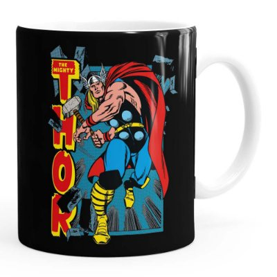 Caneca Thor The Mighty v02 Branca