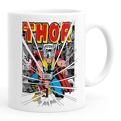 Caneca Thor The Mighty v03 Branca