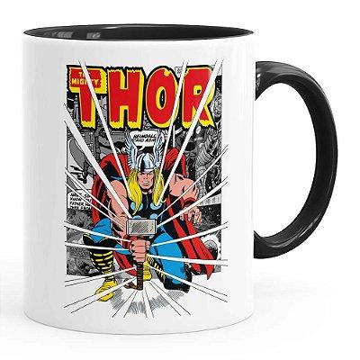 Caneca Thor The Mighty v03 Preta