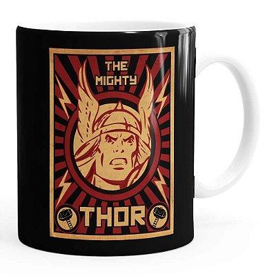 Caneca Thor The Mighty v04 Branca