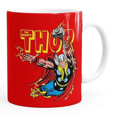 Caneca Thor The Mighty v05 Branca