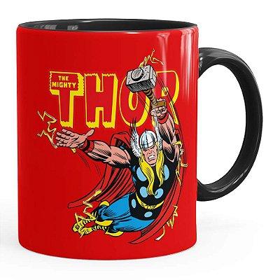 Caneca Thor The Mighty v05 Preta