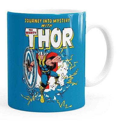 Caneca Thor The Mighty v06 Branca
