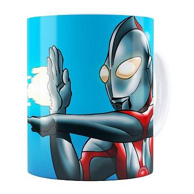Caneca Ultraman v01 Branca