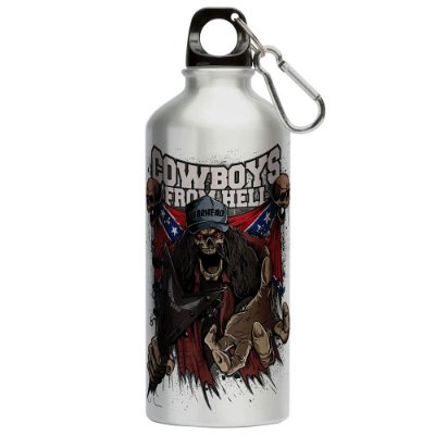 Squeeze Cowboys do Inferno 500ml Aluminio