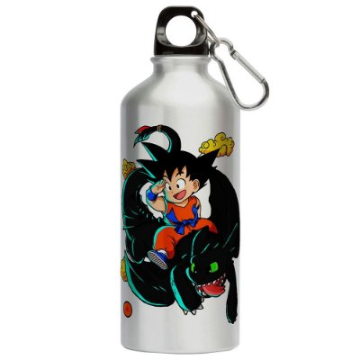 Squeeze Dragon Ball Treinando Dragão 500ml Aluminio