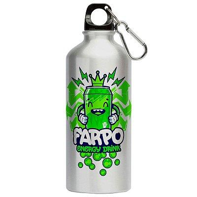 Squeeze Funny Farpo Energy Drink 500ml Aluminio