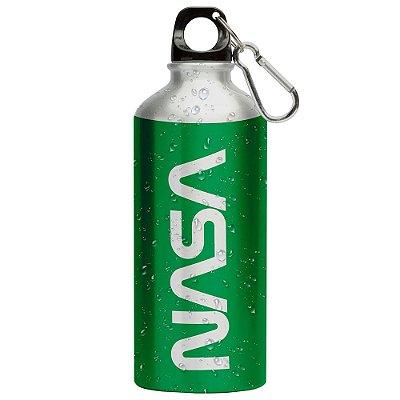 Squeeze Nasa Worm Verde 500ml Aluminio