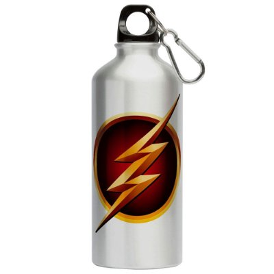 Squeeze The Flash Logo Fashion v01 500ml Aluminio
