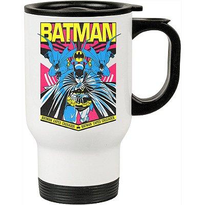 Caneca Térmica Batman Resgate 500ml Branca