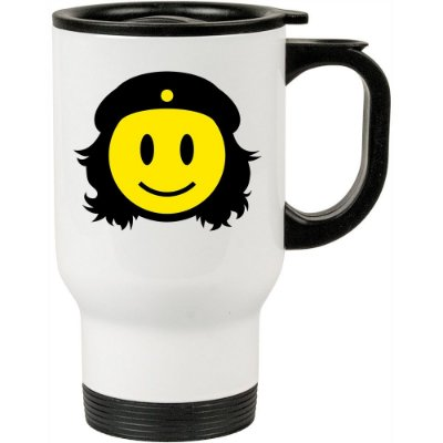 Caneca Térmica Che Guevara Smile 500ml Branca