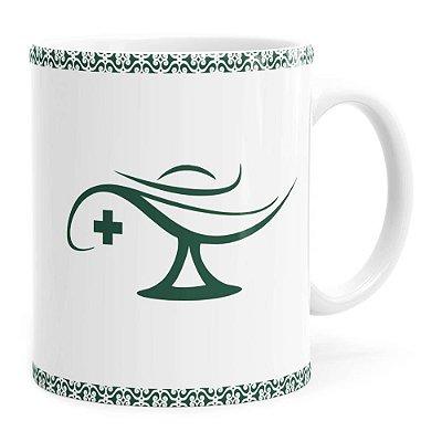 Caneca Profissões Enfermeiro v01 Branca