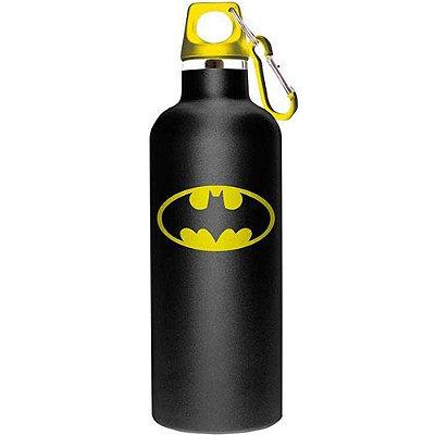 Garrafa Batman Logo Preta 750ml Alumínio