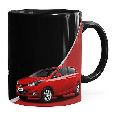 Caneca Personalizada Vendedor de Carros Preta