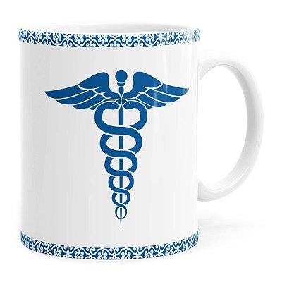 Caneca Profissões Médico v01 Branca