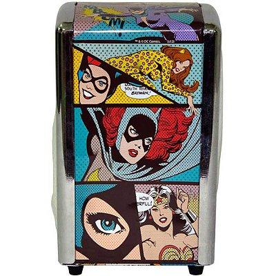 Porta Guardanapos Dc Comics Heroínas Pop Art Metal