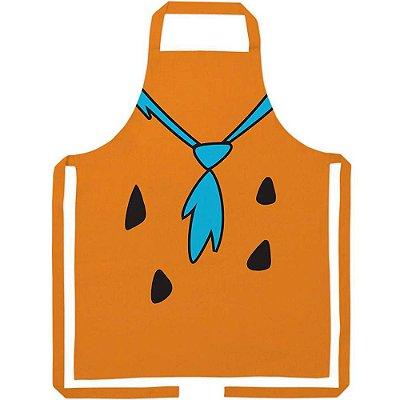 Avental Flintstones Fred Body Algodão 80x70cm