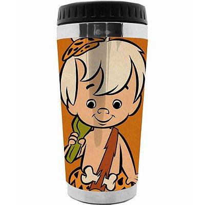 Copo Térmico Flintstones Bambam 473ml
