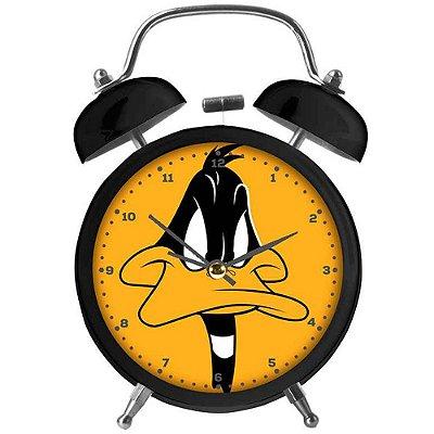 Relógio Despertador Patolino Big Face em Metal