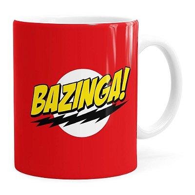 Caneca Bazinga! The Big Bang Theory Branca